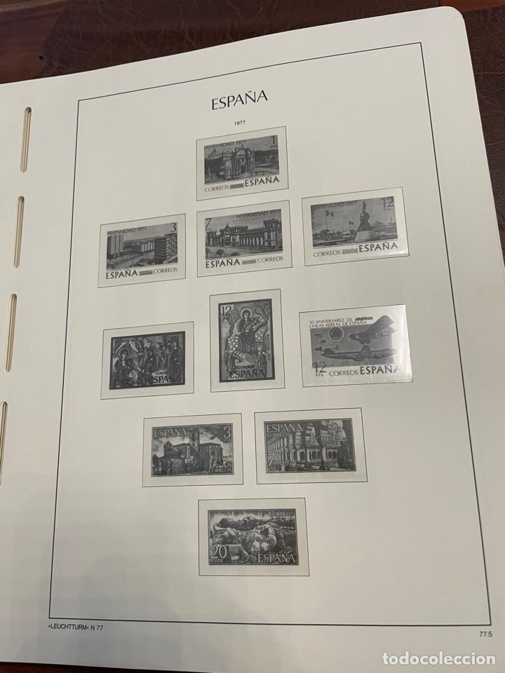 Sellos: Álbum y Hojas Leuchtturm Sellos España 1976 a 1986 - Foto 3 - 255556160