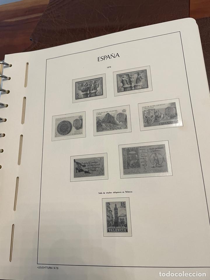 Sellos: Álbum y Hojas Leuchtturm Sellos España 1976 a 1986 - Foto 4 - 255556160