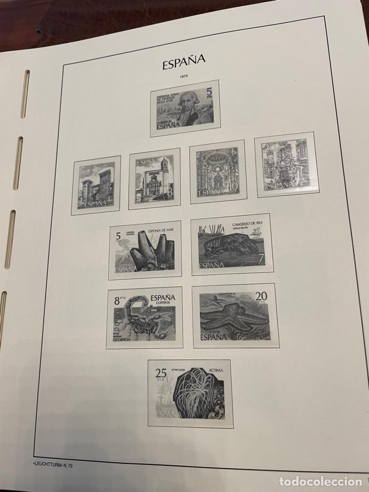 Sellos: Álbum y Hojas Leuchtturm Sellos España 1976 a 1986 - Foto 5 - 255556160