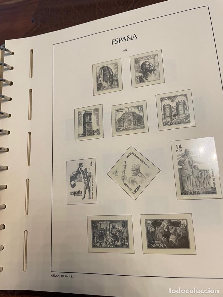 Sellos: Álbum y Hojas Leuchtturm Sellos España 1976 a 1986 - Foto 9 - 255556160