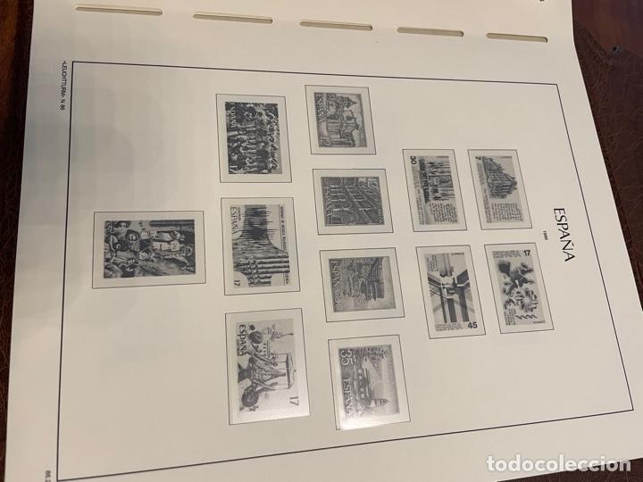 Sellos: Álbum y Hojas Leuchtturm Sellos España 1976 a 1986 - Foto 13 - 255556160