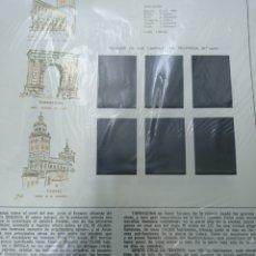 Sellos: SUPLEMENTO TORRES 1966 MONTADO EN NEGRO SEGUNDA MANO. Lote 256100240