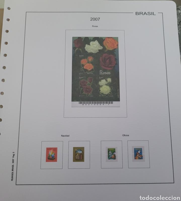 Sellos: Hoja de sellos año 2007 sin filoestuches - Foto 2 - 257656090