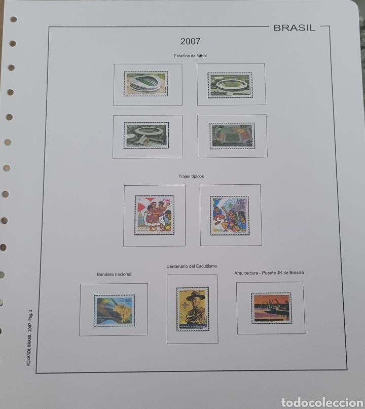 Sellos: Hoja de sellos año 2007 sin filoestuches - Foto 5 - 257656090