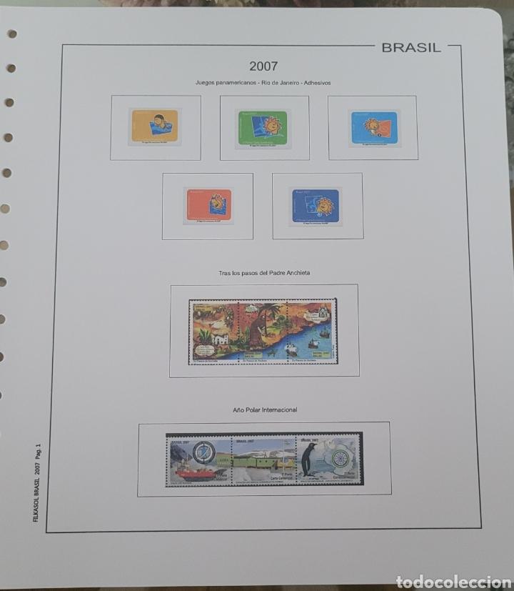 Sellos: Hoja de sellos año 2007 sin filoestuches - Foto 6 - 257656090