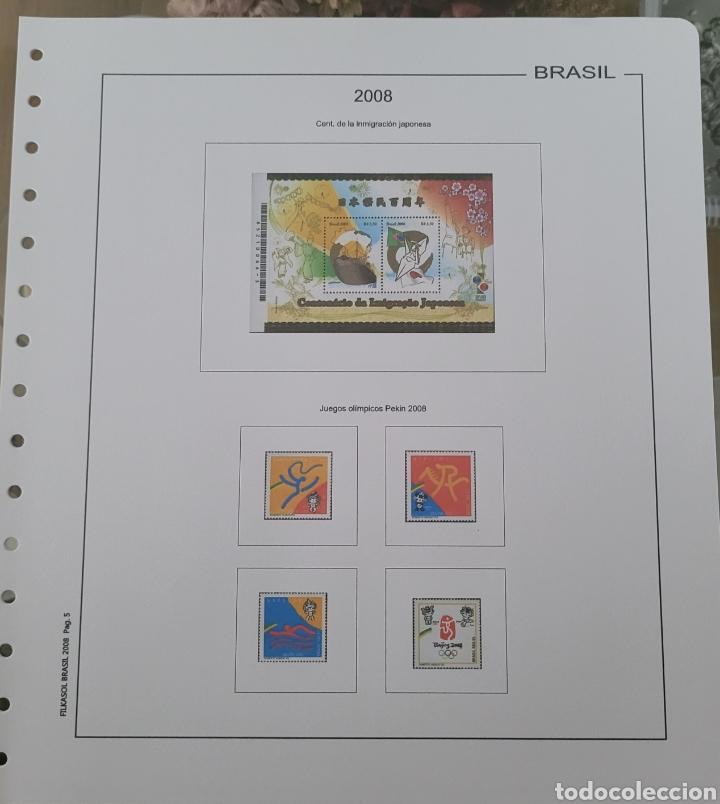 Sellos: Hoja de sellos 2008 sin filoestuches - Foto 2 - 257656410