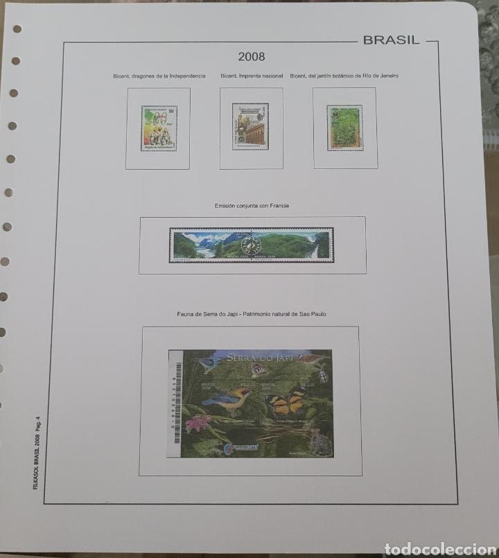 Sellos: Hoja de sellos 2008 sin filoestuches - Foto 3 - 257656410