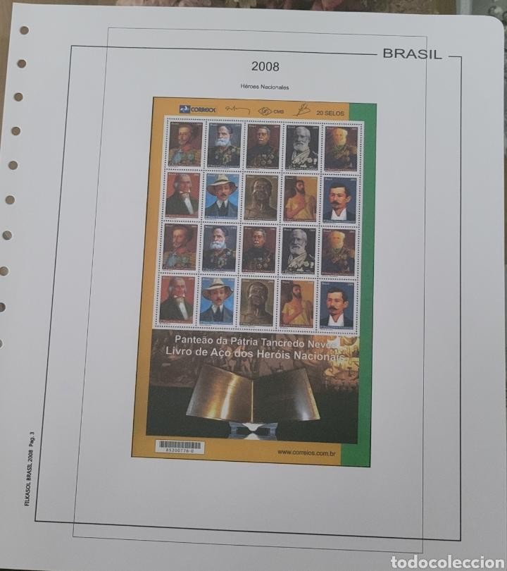 Sellos: Hoja de sellos 2008 sin filoestuches - Foto 4 - 257656410
