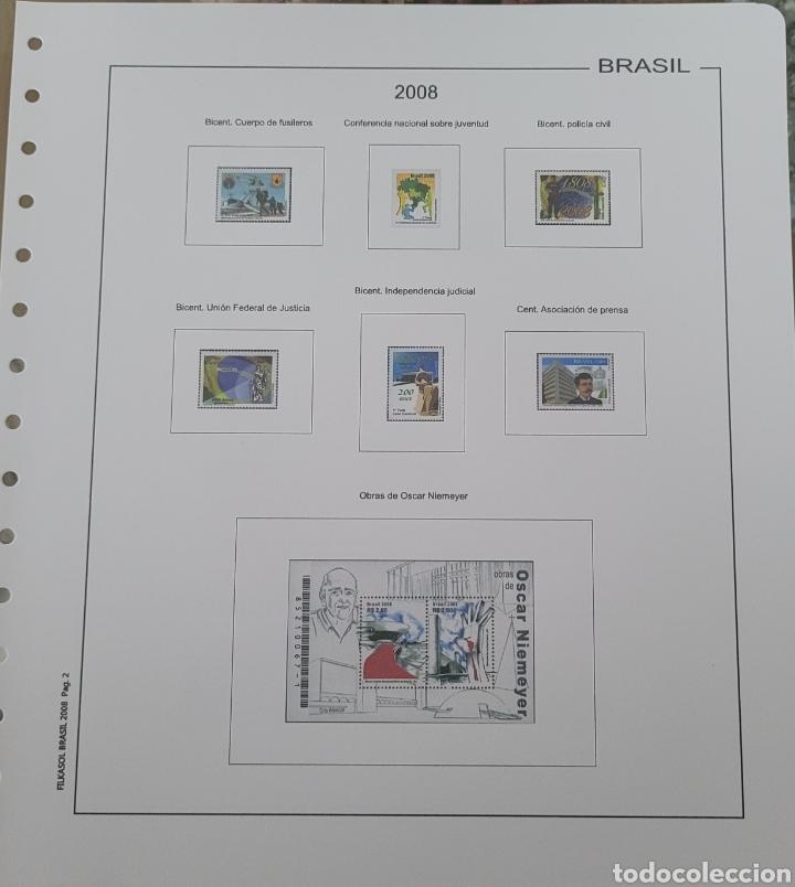 Sellos: Hoja de sellos 2008 sin filoestuches - Foto 5 - 257656410