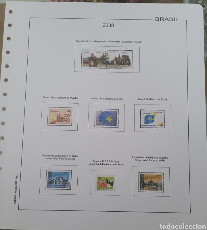 Sellos: Hoja de sellos 2008 sin filoestuches - Foto 6 - 257656410