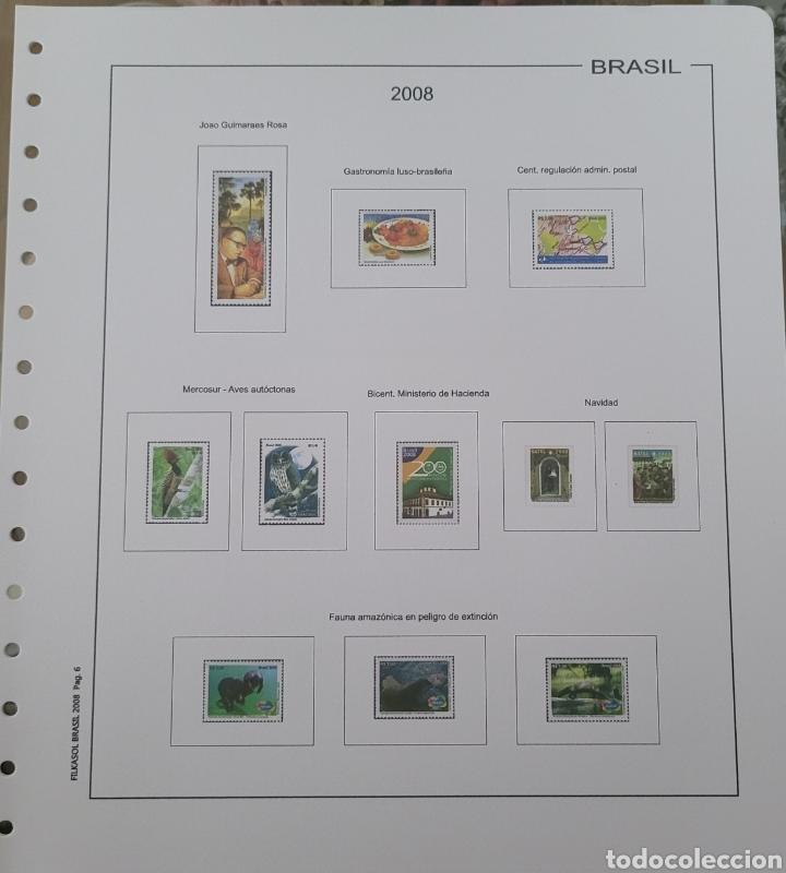 HOJA DE SELLOS 2008 SIN FILOESTUCHES (Sellos - Material Filatélico - Hojas)