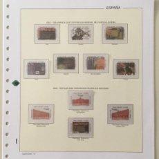 Sellos: 2002-ESPAÑA HOJAS FILABO NUEVAS CON FILOESTUCHE PARA SELLOS RECORTADOS - VER FOTOS -. Lote 284659218