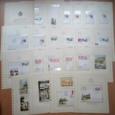 Sellos: ESPAÑA 1985 - EXFILNA 85 HOJAS DE ÁLBUM EDIFIL COLECCION COMPLETA. Lote 258789765