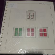 Selos: SUPLEMENTO EDIFIL 1998 AL 2001 INCLUSIVE MONTADO BLANCO SEGUNDA MANO. Lote 260469875