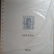 Selos: SUPLEMENTO EDIFIL 1936/49 MONTADO NEGRO CON FILOESTUCHES PRINZ SEGUNDA MANO. Lote 260555010