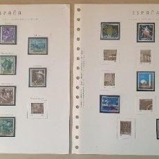 Sellos: HOJAS PUIGFERRAT 1964 - 44 A 51 - CON SELLOS Y FILOESTUCHES INCOMPLETOS. Lote 261166935