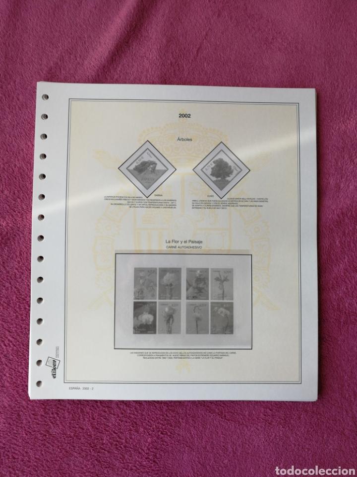 Sellos: MATERIAL FILATELICO : HOJAS EFILCAR AÑO 2002 COMPLETO (LEER DESCRIPCIÓN) - Foto 3 - 175205593