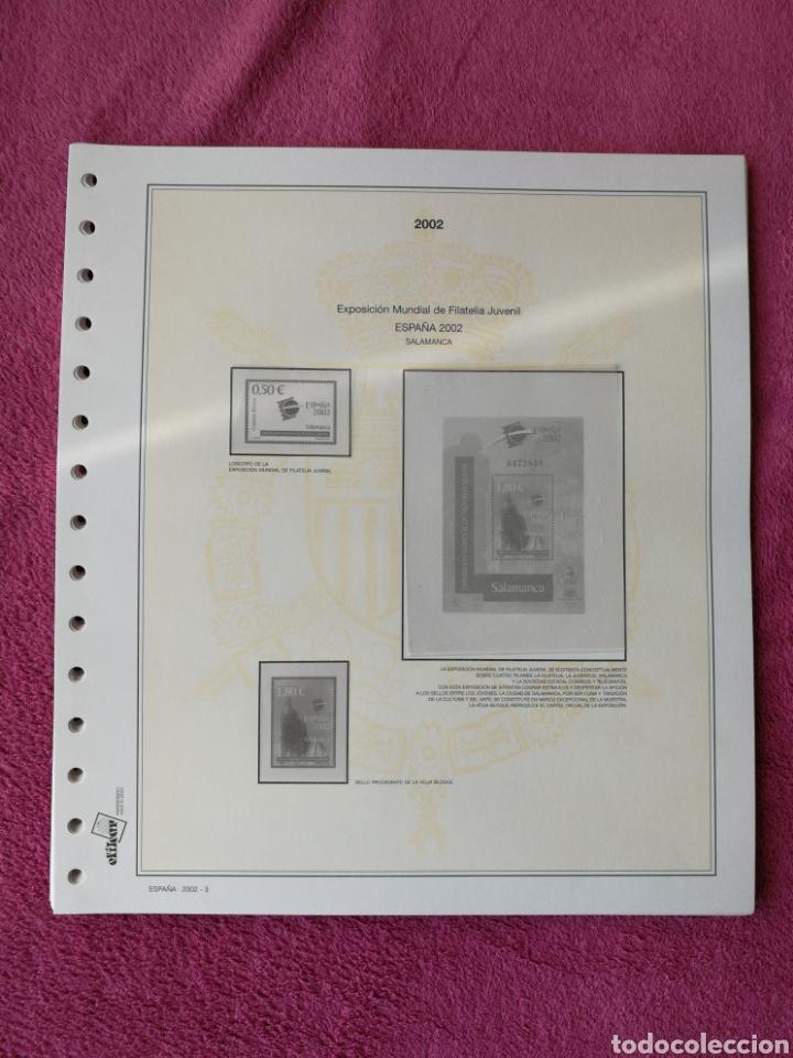 Sellos: MATERIAL FILATELICO : HOJAS EFILCAR AÑO 2002 COMPLETO (LEER DESCRIPCIÓN) - Foto 4 - 175205593