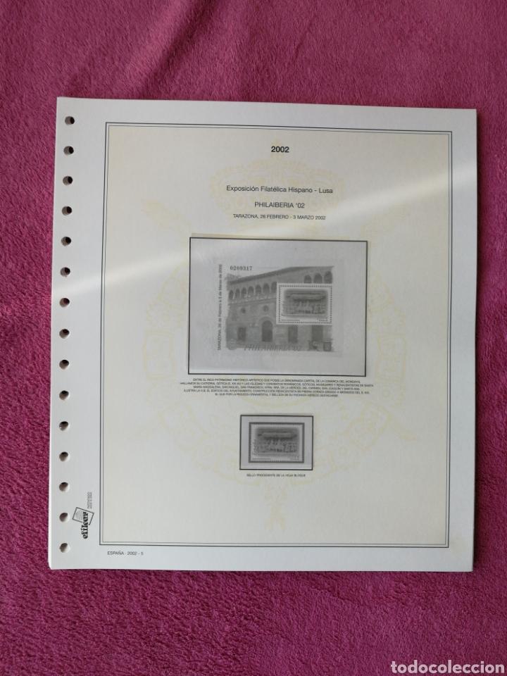 Sellos: MATERIAL FILATELICO : HOJAS EFILCAR AÑO 2002 COMPLETO (LEER DESCRIPCIÓN) - Foto 6 - 175205593