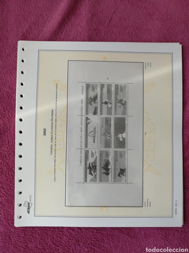 Sellos: MATERIAL FILATELICO : HOJAS EFILCAR AÑO 2002 COMPLETO (LEER DESCRIPCIÓN) - Foto 9 - 175205593