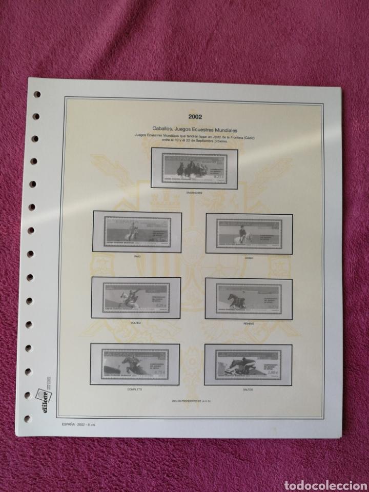 Sellos: MATERIAL FILATELICO : HOJAS EFILCAR AÑO 2002 COMPLETO (LEER DESCRIPCIÓN) - Foto 10 - 175205593