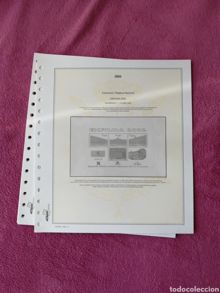 Sellos: MATERIAL FILATELICO : HOJAS EFILCAR AÑO 2002 COMPLETO (LEER DESCRIPCIÓN) - Foto 11 - 175205593