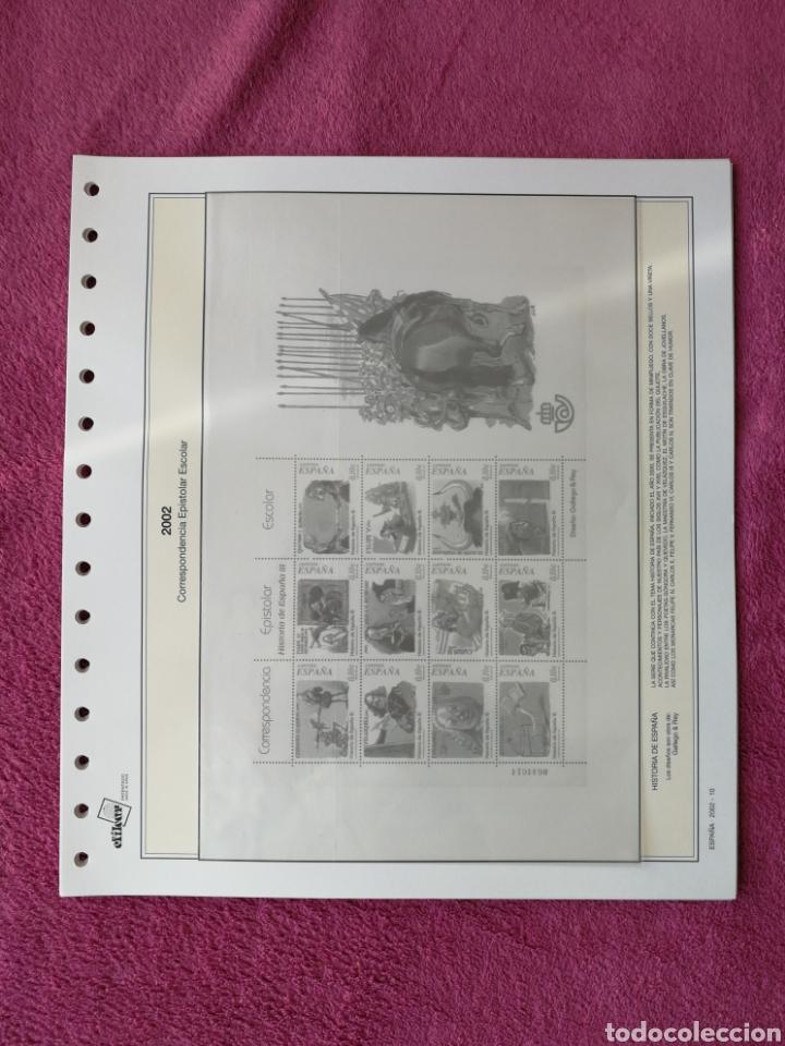 Sellos: MATERIAL FILATELICO : HOJAS EFILCAR AÑO 2002 COMPLETO (LEER DESCRIPCIÓN) - Foto 13 - 175205593