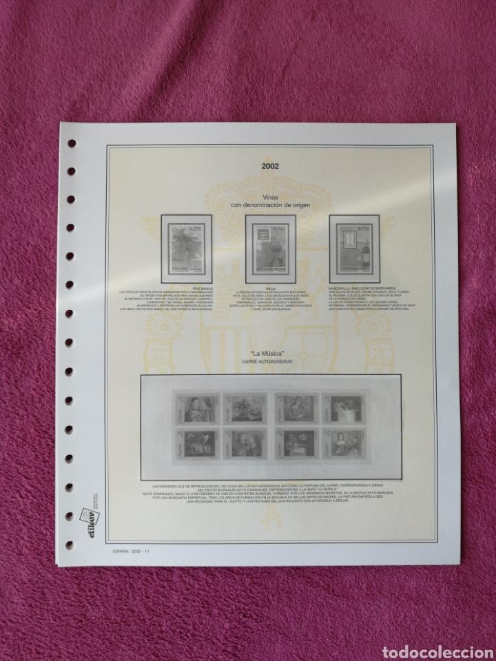 Sellos: MATERIAL FILATELICO : HOJAS EFILCAR AÑO 2002 COMPLETO (LEER DESCRIPCIÓN) - Foto 16 - 175205593
