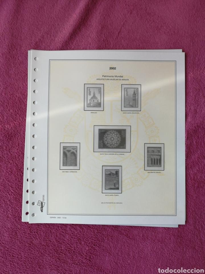 Sellos: MATERIAL FILATELICO : HOJAS EFILCAR AÑO 2002 COMPLETO (LEER DESCRIPCIÓN) - Foto 18 - 175205593