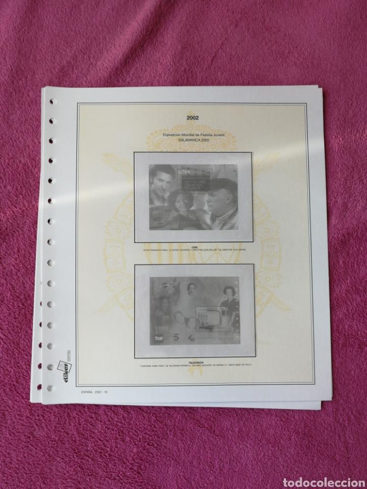 Sellos: MATERIAL FILATELICO : HOJAS EFILCAR AÑO 2002 COMPLETO (LEER DESCRIPCIÓN) - Foto 20 - 175205593