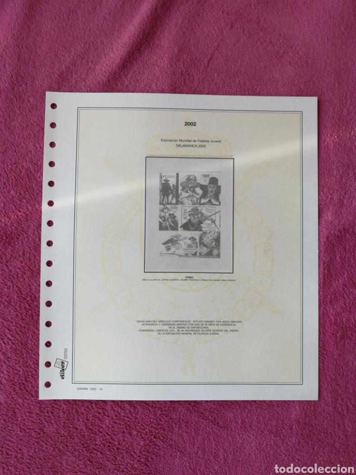 Sellos: MATERIAL FILATELICO : HOJAS EFILCAR AÑO 2002 COMPLETO (LEER DESCRIPCIÓN) - Foto 23 - 175205593