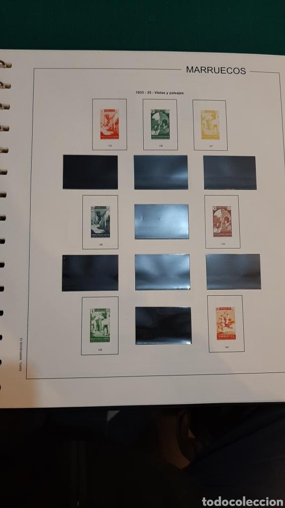 Sellos: MARRUECOS ESPAÑA HOJAS EDIFIL NUEVAS CON ALGUNOS ESTUCHES COLICADOS 1903 / 1957 - Foto 22 - 268766654
