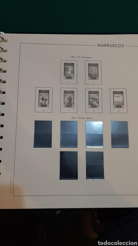 Sellos: MARRUECOS ESPAÑA HOJAS EDIFIL NUEVAS CON ALGUNOS ESTUCHES COLICADOS 1903 / 1957 - Foto 44 - 268766654