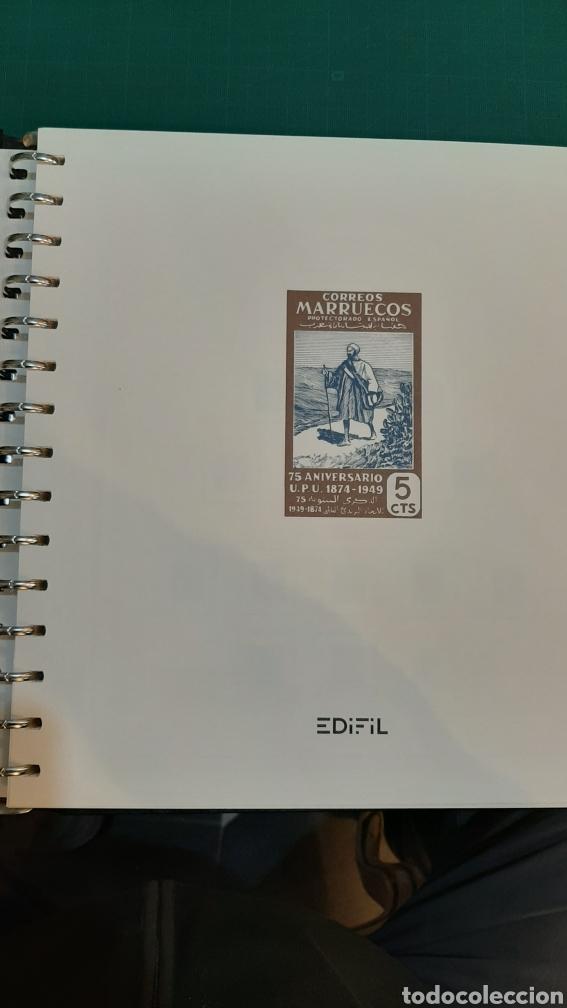 MARRUECOS ESPAÑA HOJAS EDIFIL NUEVAS CON ALGUNOS ESTUCHES COLICADOS 1903 / 1957 (Sellos - Material Filatélico - Hojas)