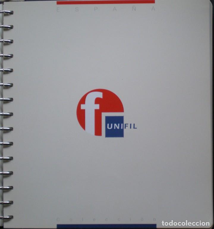 ESPAÑA - HOJAS NUEVAS SIN MONTAR - MARCA UNIFIL - AÑO 1996 - 3 FOTOS - LEER COMENTARIO (Sellos - Material Filatélico - Hojas)