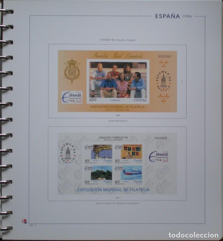 Sellos: ESPAÑA - HOJAS NUEVAS SIN MONTAR - MARCA UNIFIL - AÑO 1996 - 3 FOTOS - LEER COMENTARIO - Foto 3 - 270196798