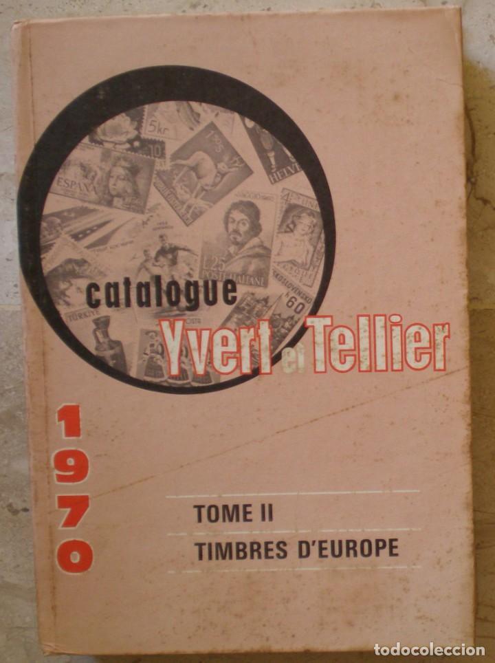 CATALOGO DE SELLOS IVERT & TELLIER DEL AÑO 1970 - VER 4 FOTOS (Sellos - Material Filatélico - Hojas)