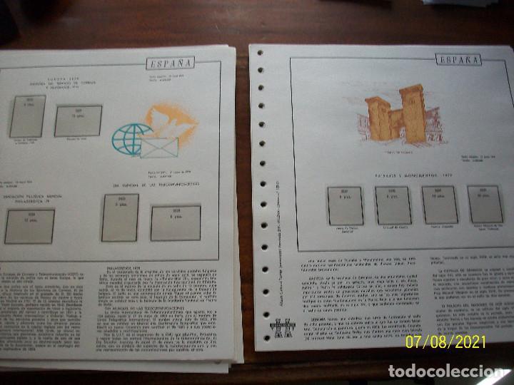 Sellos: HOJAS TORRES EN TRANSPARENTES-AÑOS-1977-1978-1979-1980-1981 - Foto 15 - 274400648