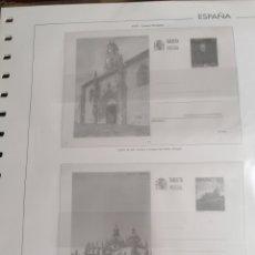 Timbres: ESPAÑA HOJAS DE ÁLBUM EDIFIL SUPLEMENTO TARJETAS ENTERO POSTALES AÑO 1997 MONTADAS EN TRANSPARENTE. Lote 275496373