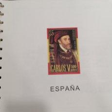 Timbres: ESPAÑA HOJAS DE ÁLBUM EDIFIL SUPLEMENTO AÑO 2000 MONTADO EN TRANSPARENTE. Lote 276469633