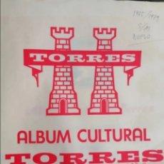 Sellos: ESPAÑA HOJAS DE ÁLBUM TORRES SIN MONTAR AÑOS 1975 AL 1979 (NUEVO). Lote 279330538