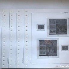 Sellos: HOJAS EDIFIL SELLOS ESPAÑA AÑO 1992 FILOESTUCHES TRANSPARENTES HE90 1992. Lote 279444113