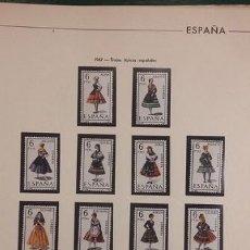 Sellos: HOJAS FILABO SELLOS ESPAÑA AÑO 1967 FILOESTUCHES NEGROS HE60 1967. Lote 279445848