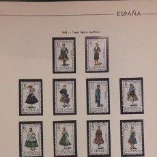 Sellos: HOJAS FILABO SELLOS ESPAÑA AÑO 1968 COMPLETO FILOESTUCHES NEGROS HE60 1968. Lote 279446323