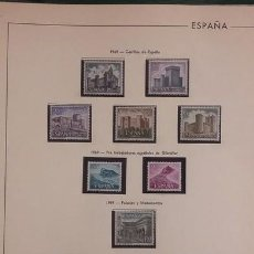 Sellos: HOJAS FILABO SELLOS ESPAÑA AÑO 1969 COMPLETO FILOESTUCHES NEGROS HE60 1968. Lote 279446668