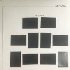 Sellos: HOJAS EDIFIL ESPAÑA AÑOS 1950 A 1960 24 HOJAS MONTADAS EN NEGRO DE LA Nº 94 A 117 HE50 HE60 VER. Lote 279452098