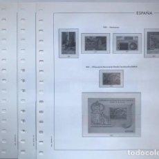 Sellos: HOJAS EDIFIL ESPAÑA AÑO 1990 FILOESTUCHES TRANSPARENTES HE90 1990. Lote 280572998