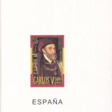 Francobolli: SELLOS ESPAÑA OFERTA SUPLEMENTOS 2000 EDIFIL MONTADOS EN TRANSPARENTE MUY BUEN ESTADO SIN SELLOS. Lote 286187598