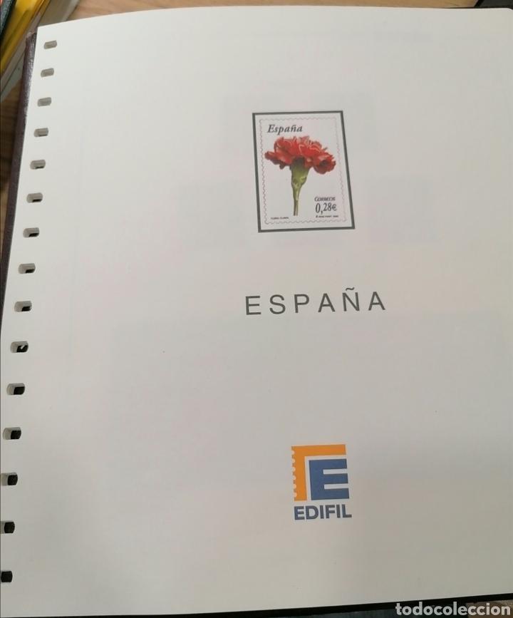 ESPAÑA HOJAS DE ÁLBUM EDIFIL SUPLEMENTO AÑO 2006 MONTADO (SEGUNDA MANO) (Sellos - Material Filatélico - Hojas)