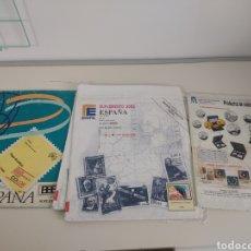 Francobolli: ESPAÑA HOJAS DE ÁLBUM EDIFIL SUPLEMENTO AÑO 2005 X3 AÑO 2000 Y AÑO 2006. Lote 283445933
